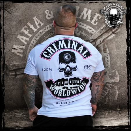 "Mafia & Crime ""CRIMINAL WORLDWIDE"" 182 white-black"