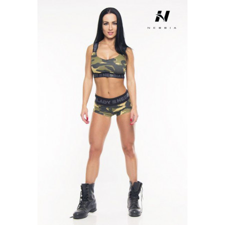 NEBBIA MINI TOP CAMO
